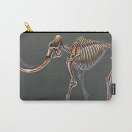 Mammuthus Primigenius Skeletal Study (no labels) Carry-All Pouch