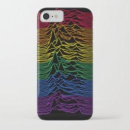 Joy Division - Unknown Rainbow Pleasures iPhone Case