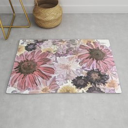 Wintry Bouquet Rug