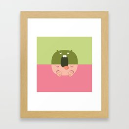 Pantless Project / OZ Framed Art Print