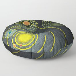 GOLDEN RECORD Floor Pillow
