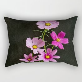 Cosmos Bouqet Rectangular Pillow