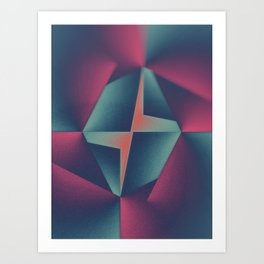 Heart And Center Art Print