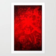 Chili Covers Art Print