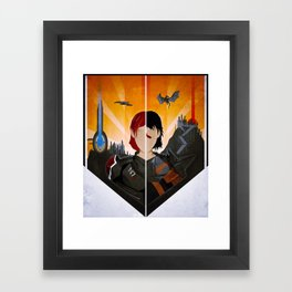 The Shepard & The Hawke Framed Art Print