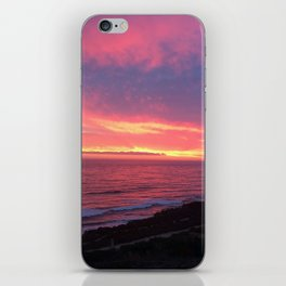 Sky On Fire iPhone Skin