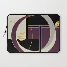 Leaves falling on Rodeo Drive Laptop Sleeve
