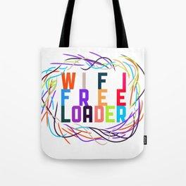 WIFI FREELOADER Tote Bag