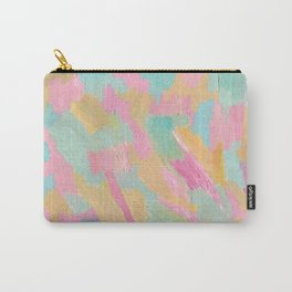 Sea Foam Beach Abstract Carry-All Pouch