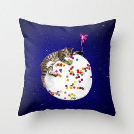 DIM YEUNG prince Throw Pillow