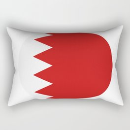 bahrain flag Rectangular Pillow