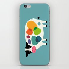 Awesome Cow iPhone & iPod Skin
