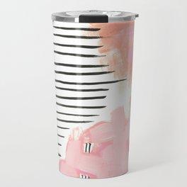 Pink Abtract #324 Travel Mug