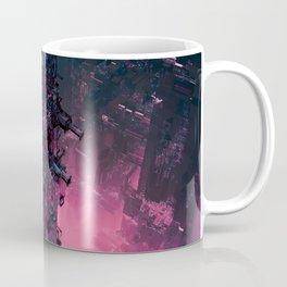 The Technocore / 3D render of futuristic structure Coffee Mug