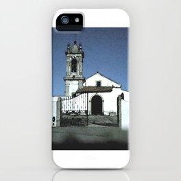 Portugal: Igreja Santo Estêvão das Galés iPhone Case