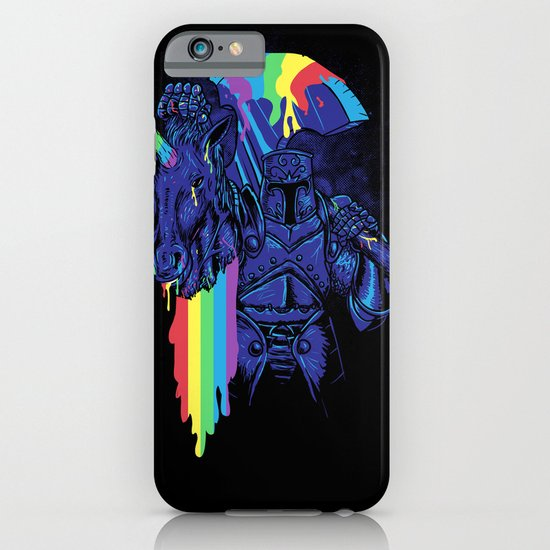 Rainbow harvest (so intense) iPhone & iPod Case