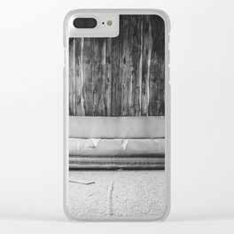 The Yellow House, Arena, North Dakota 12 Clear iPhone Case