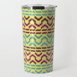 AZTEC Pattern 1-2 Travel Mug