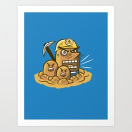 Mr. Resettrio Art Print