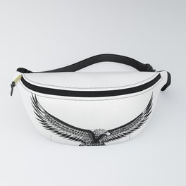 Wild eagle ecopop Fanny Pack