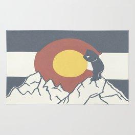Colorado, the Big Blue Bear and the Rockies Rug
