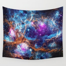Lobster Nebula Wall Tapestry
