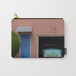 Blue Swallow Motor Court Garage with Hudson Route 66 Carry-All Pouch