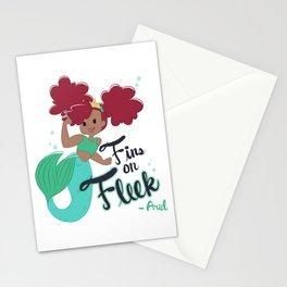 Ariel on Fleek Stationery Cards