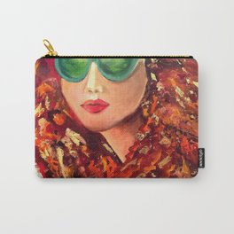 Diana by Varda Levy Carry-All Pouch