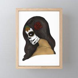 The Day Of The Dead Girl Framed Mini Art Print
