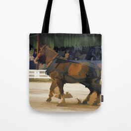 Pure Horsepower - Horse Pulling Event Tote Bag