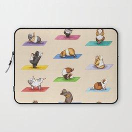 The Yoguineas - Yoga Guinea Pigs - Namast-hay! Laptop Sleeve