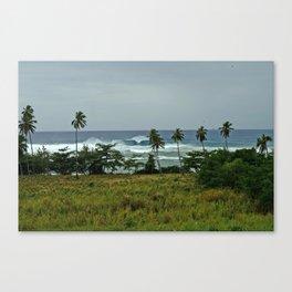 surf rincon pr Canvas Print