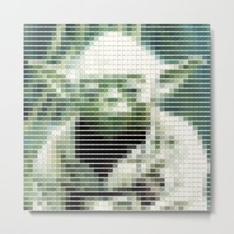 Yoda - StarWars - Pantone Swatch Art Metal Print