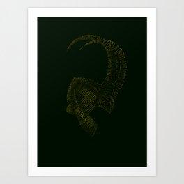 I am Loki, of Asgard Art Print