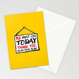 No Thank You Stationery Cards