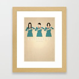Spending All My Time (No Creases) Framed Art Print