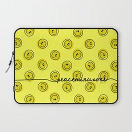 PMO Yellow Happiness Laptop Sleeve