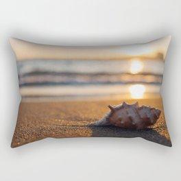 Seashore Seashell Rectangular Pillow