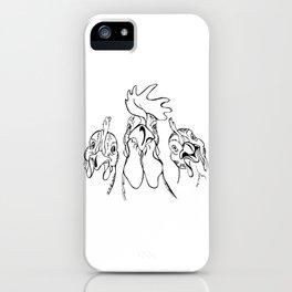three comrades iPhone Case