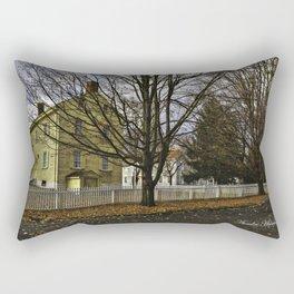Autumn Yellow Rectangular Pillow