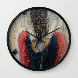 Bachmors Embrace I Wall Clock