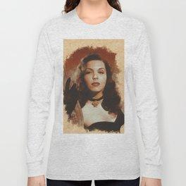 Ann Miller, Hollywood Legend Long Sleeve T-shirt