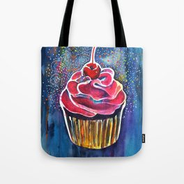 Rainbow Cupcake Tote Bag