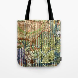Driving Out Miss Martineau Tote Bag