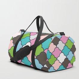 Preppy Fun Pattern Duffle Bag