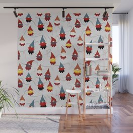 Gnome pattern 1c Wall Mural