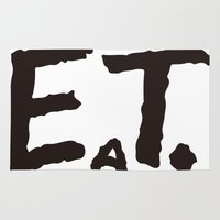 eat Area & Throw Rugs featuring EAT by Masahisa  Saito