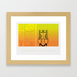 Natural Born Rodent Killers (Pt. 3) Framed Art Print