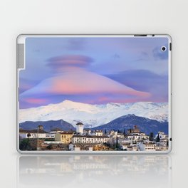 NASA APOD. ASTRONOMY PICTURE OF THE DAY! Lenticular clouds over Granada and Sierra Nevada at sunset Laptop & iPad Skin